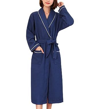 365-Shopping Unisex Waffel Weave Dressing Kleid Baumwolle leichte ...
