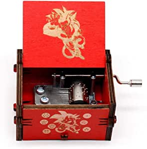 Caja musical de Dragon Ball Baby Boy caja musical tradicional DIY 18 notas, mecanismo de amigos de familia juguetes musicales A: Amazon.es: Hogar
