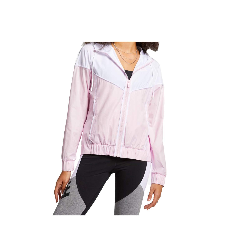 Nike Womens Windrunner Track Jacket Pink Foam/White 883495-663 Size X-Small