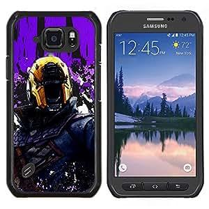 LECELL--Funda protectora / Cubierta / Piel For Samsung Galaxy S6Active Active G890A -- Juez Dr3dd --