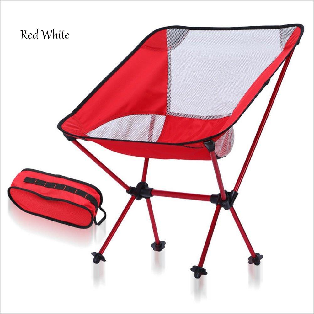 Camping Klappstuhl Outdoor Tragbare Mond Stuhl Luftfahrt Aluminium Freizeit Strand Stuhl