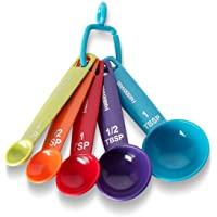 Farberware - Tazas medidoras, color, Cucharas de medidas, Multicolor, Pequeño, 1