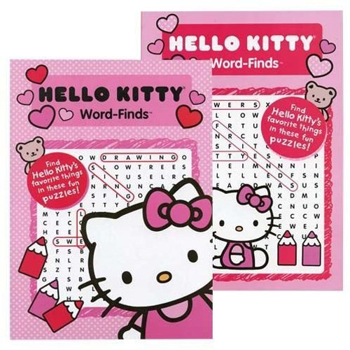 SANRIO Kappa Publication 3160 Hello Kitty Word-Find Pack