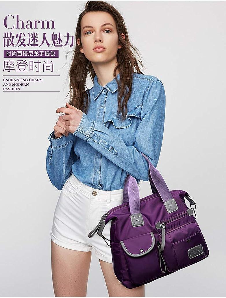 Nylon Waterproof fashion ladies bag nylon mommy bag large capacity Shopping Folding Tote travel bag