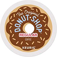The Original Donut Shop Regular Keurig Single-Serve K-Cup Pods, Medium Roast Coffee, 24 Count (Pack of 4)