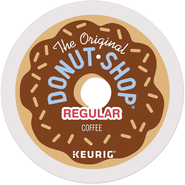 The Original Donut Shop Regular Keurig Single-Serve K-Cup Pods, Medium Roast Coffee, 24 Count (Pack of 4)