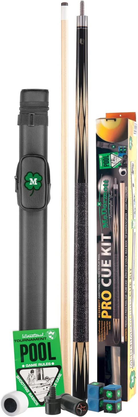 McDermott Pro Pool Cue Kit by McDermott Cues: Amazon.es: Deportes y aire libre