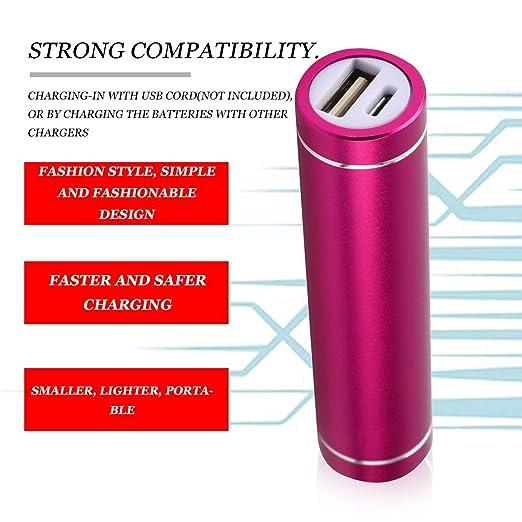 Garciasia Mini USB Mobile Power Bank Cargador Paquete Caja ...
