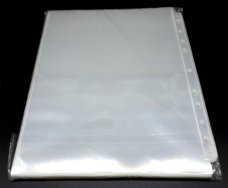 docsmagic.de 10 1-Pocket Album Pages 8.5 x 11 219 x 285 mm Photo Magazine 11-Hole Feuilles