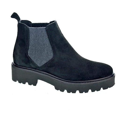 selección mundial de diseño exquisito calidad y cantidad asegurada ALPE Women's 37401105 - Botines Mujer Boots Black 5 UK ...