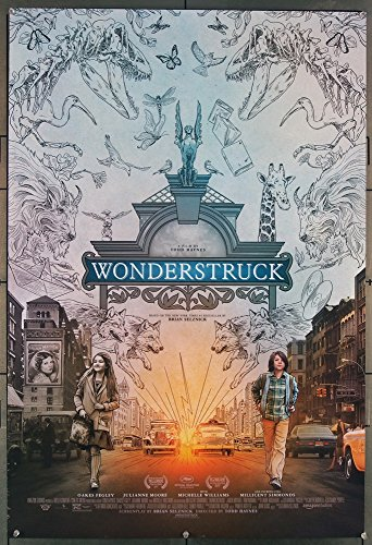 Wonderstruck (2017) Original U.S. One-Sheet Movie Poster 27x40 Rolled Very Fine Condition OAKES FEGLEY MILLICENT SIMMONDS Film Directed by TODD HAYNES