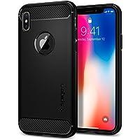 Spigen iPhone X/Xs Case Rugged Armor - Black