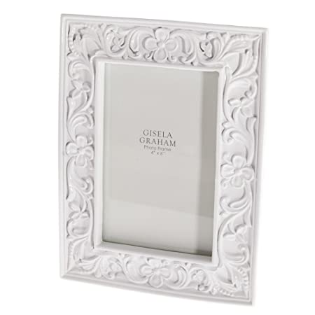 Gisela Graham White China Floral Shabby Chic Photo Picture Frames 4