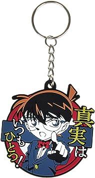 CoolChange Llavero de Conan con Figura Chibi de Conan Edogawa