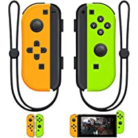 SINGLAND Joy Con Wireless Controller Replacement for Switch, Left&Right Remote with Wrist Strap Support Wake-up Function…