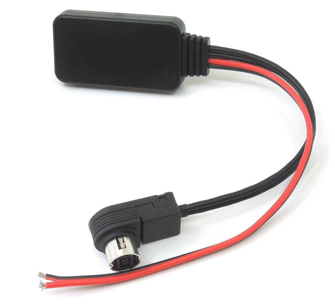 Bluetooth Module Aux Cable Input Adapter Mp3 For Alpine Cda 9847 Wiring Diagram Kca 121b Ai Net Cd Cda9857 Cda9886 Cda9807 Cda9805 Cda7893 Iva D900 Cell Phones