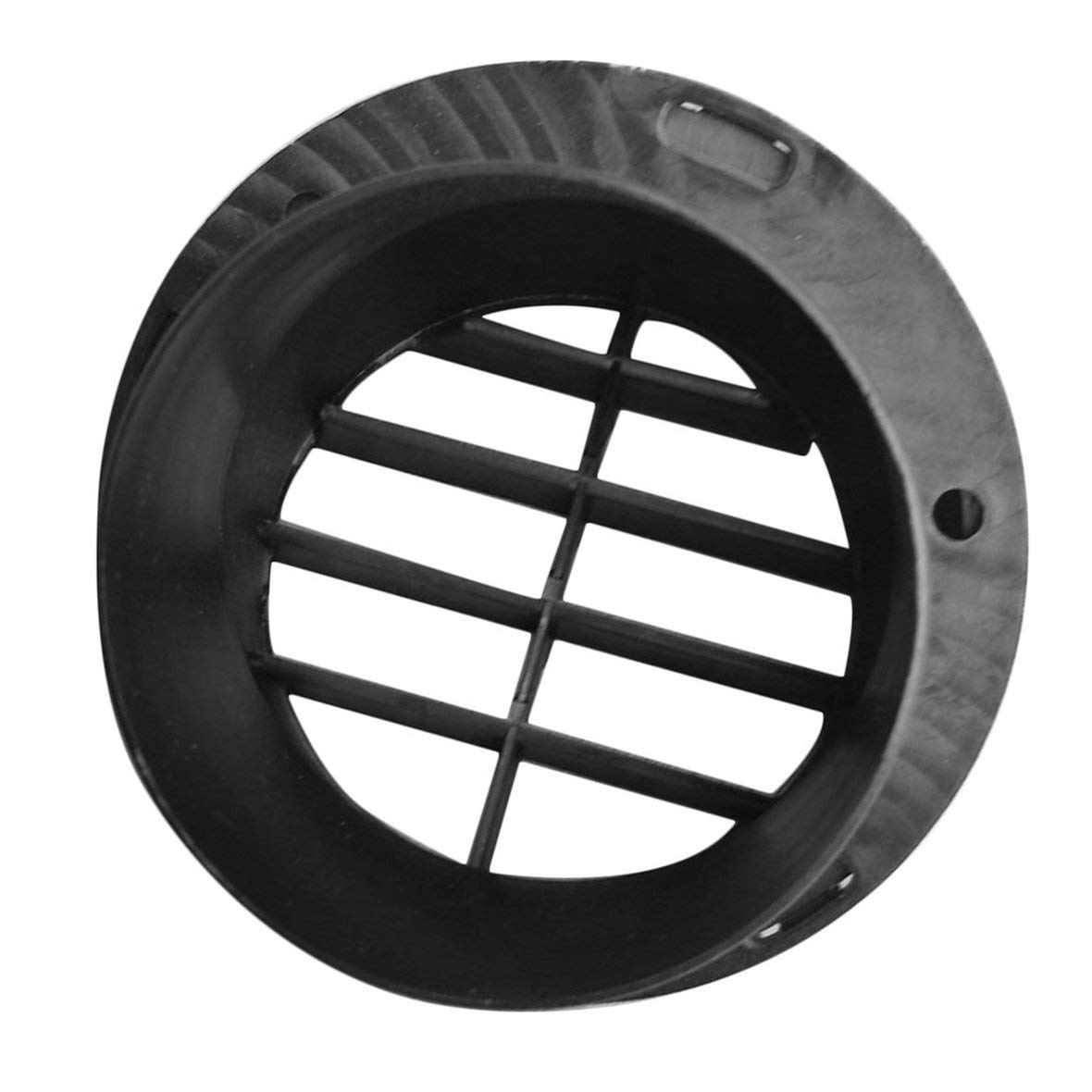 Tivolii Car Heater Vent Outlet 60mm(2.362inch) Warm Heater Parking Heater Air Vent Car Heater Air Outlet Directional Rotatable for Webasto Truck Auto Parts