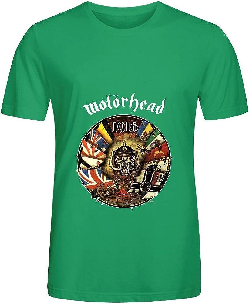 TeeU Motorhead 1916 Jazz Men Crew Neck Digital Printed Shirt