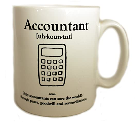 Accountant Definition 11oz Gift Mug: Amazon.co.uk: Kitchen & Home