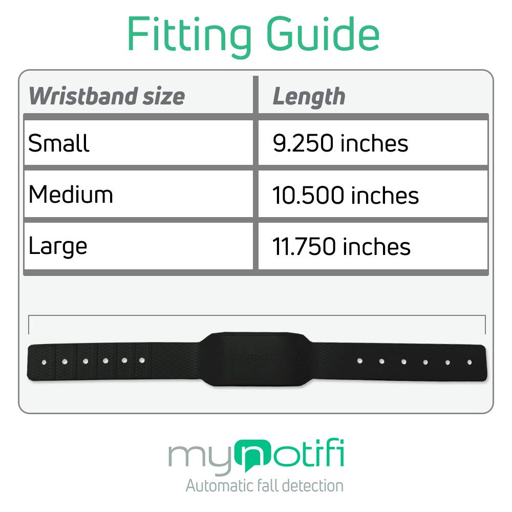 MyNotifi Automatic Fall Detection Wearable - No Call Center, No Monthly Fees - Alerts Family and Friends - Medical Alert System for Seniors by MyNotifi (Image #7)