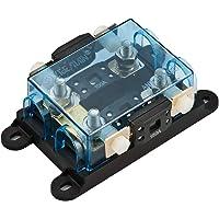 Offgridtec® 2-vägs MEGA-Fuse-säkringshållare med hållare för reservsäkring