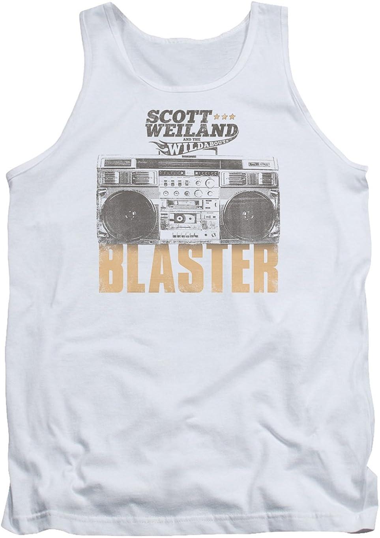 Scott Weiland Black Hat Adult Tank Top