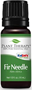 Plant Therapy Fir Needle Essential Oil. 100% Pure, Undiluted, Therapeutic Grade. 10 ml (1/3 oz).
