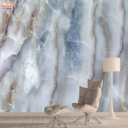 Blue Marble 3d Photo Vinyl Wallpaper Murals Wall Papers Home Decor