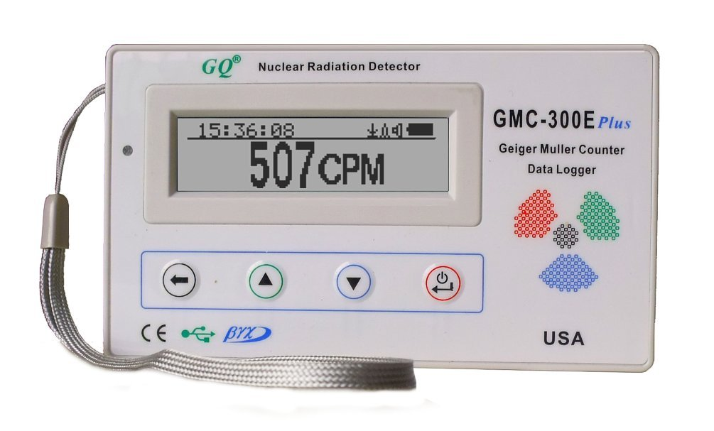 GQ GMC300EPlus Fulfill Digital Nuclear Radiation Detector Monitor Meter