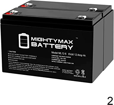 6V 12AH Replacement Battery for Tripp Lite OMNISM1000USB UPS Brand Product Mighty Max Battery ML12-6