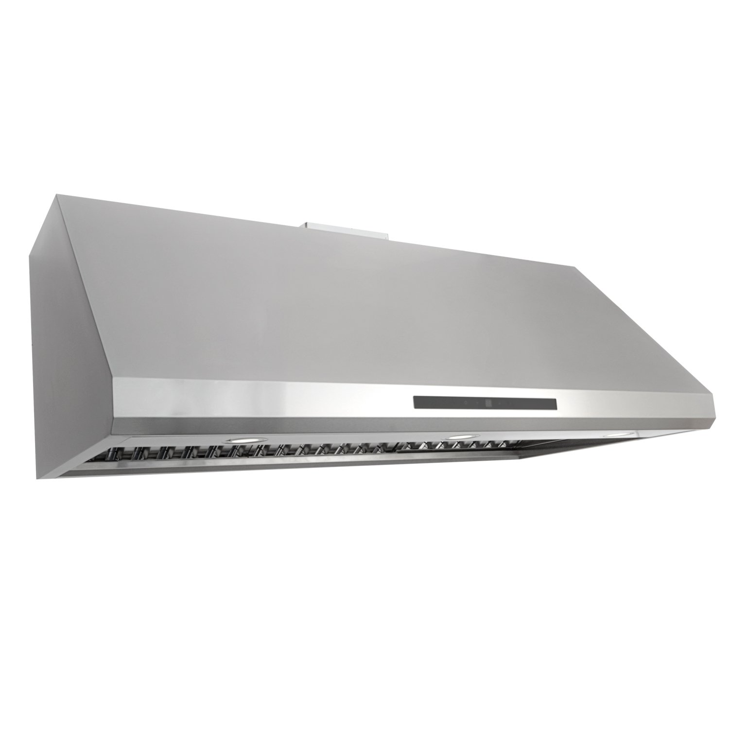 Cosmo 48 in. 1000 CFM Ducted Under Cabinet Stainless Steel Range Hood with Touch Screen, Kitchen Vent Hood Exhaust Fan with Permanent Filters and LED Lighting