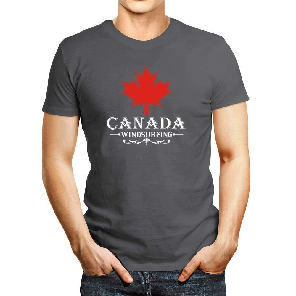 Idakoos Maple Canada Windsurfing Tshirt