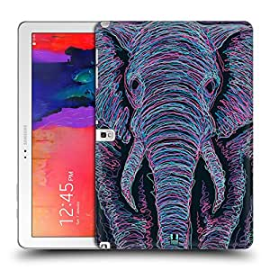 Head Case Designs Elephant Scribble Animal Faces Protective Snap-on Hard Back Case Cover for Samsung Galaxy Note Pro 12.2 P900 P901 P905