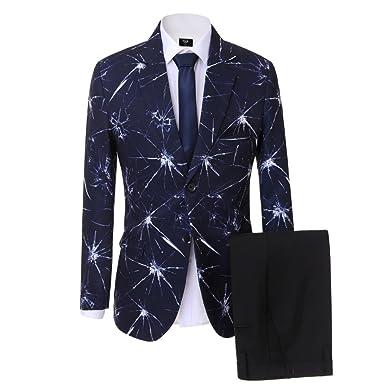 buy online 771af 6e9c6 Lilis® Herrenbekleidung Hochzeit Männer Anzug Marineblau ...