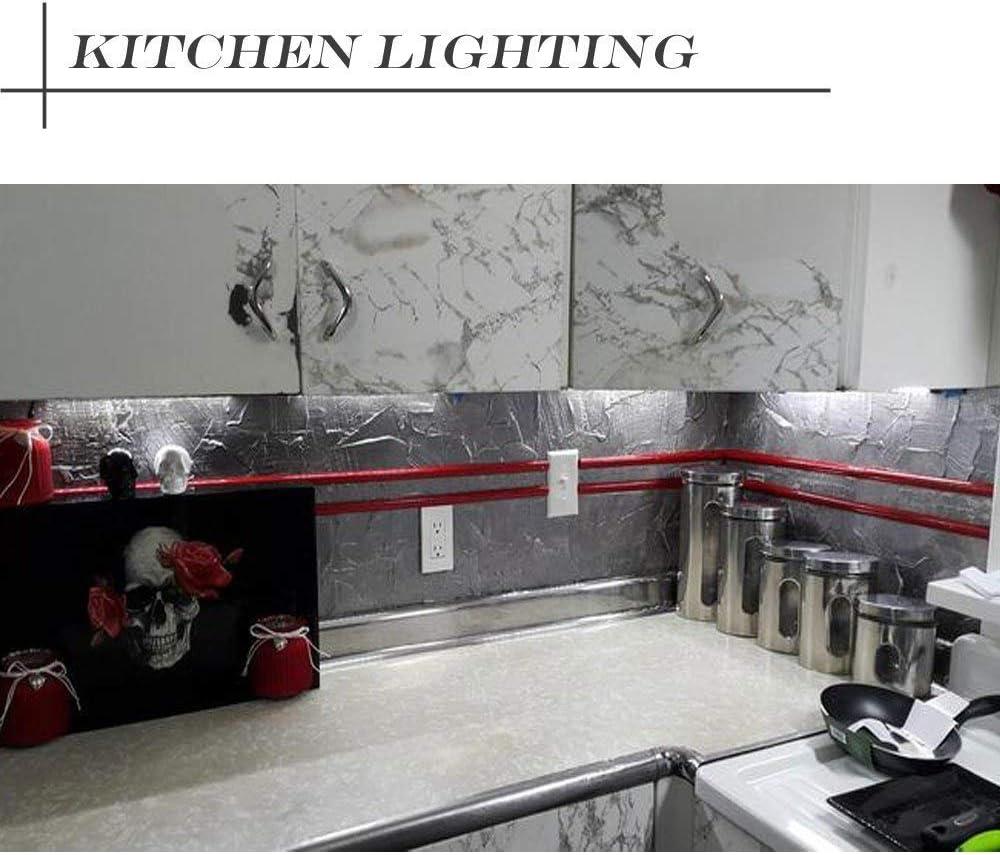 Closet Lighting Dimmable Led Under Cabinet Strip Lights Mains 12v Dc Warm White 3000k Led Rigid Strip Bar Light Kit For Plug In Under Kitchen Cupboard Lighting 3x 30cm Under Cabinet Lights