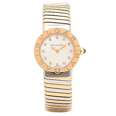 online store 66b20 71567 Amazon | [ブルガリ]腕時計 レディース BVLGARI BBL262TWSPG/12 ...