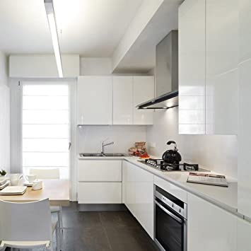 kinlo 5m papier peint adhsif rouleaux reconditionn pour armoires de cuisine en pvc self adhesive autocollant