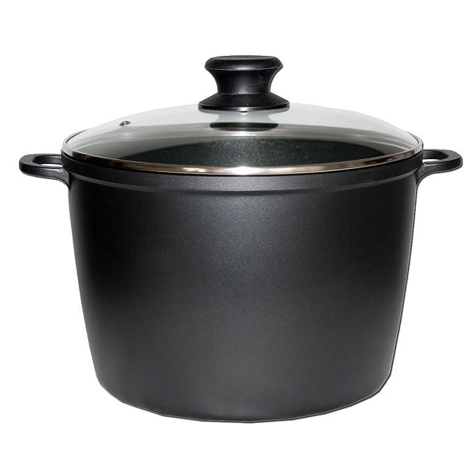 aluguß olla con revestimiento antiadherente (28 cm de diámetro 10 L: Amazon.es: Hogar