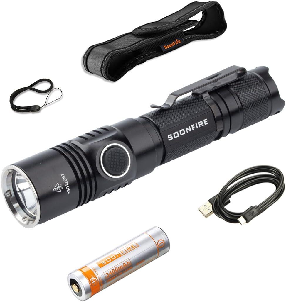 TheWin Pocket-Size Led Flashlight Light Lamp,Black