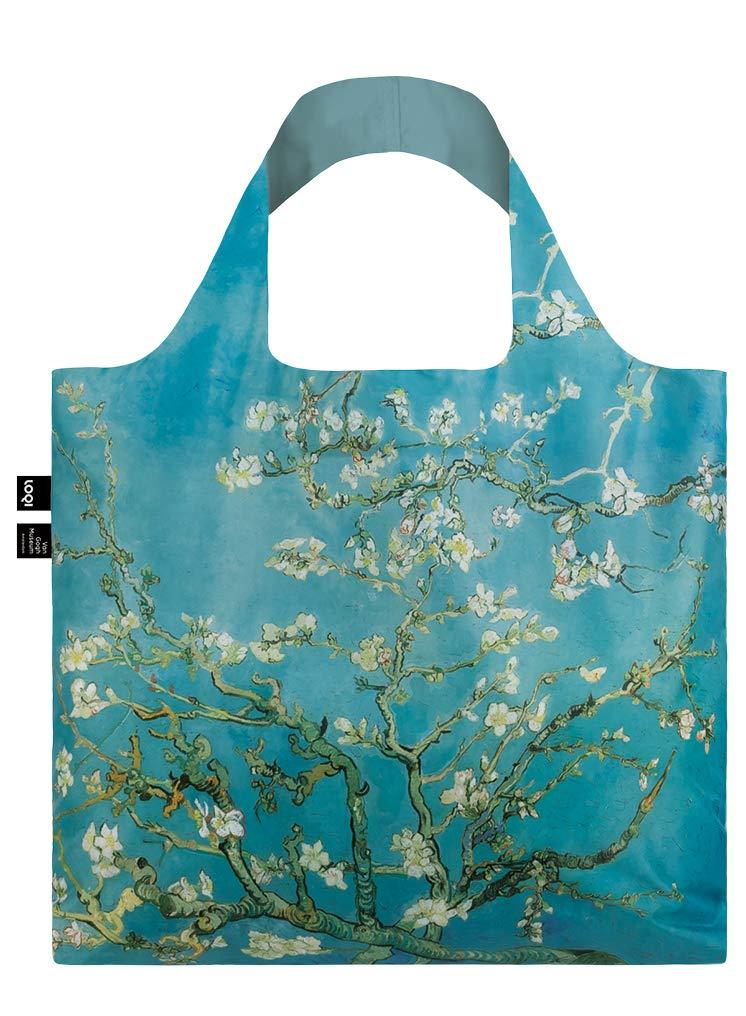 LOQI VAN GOGH Almond Blossom Bag Tote da viaggio, 50 cm, 15 liters, Blu (Almond Blossom) VG.AB