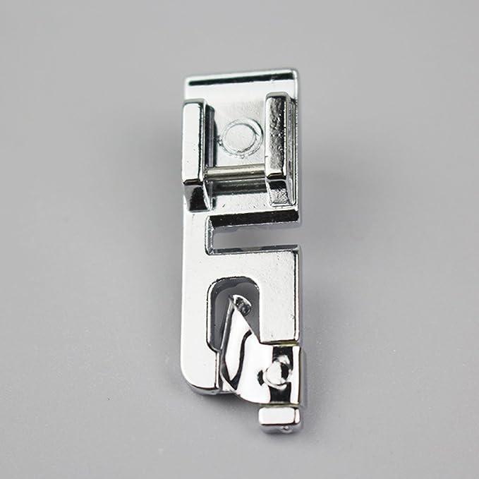 Silver//3mm Pies prensatelas multifuncionales para M/áquina de Coser UxradG RJ-7303R Tama/ño Libre
