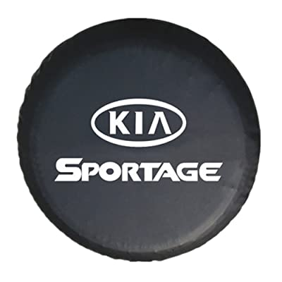 Moonet Spare Wheel Tire Cover for KIA Sportage 15 inch: Automotive [5Bkhe1504793]