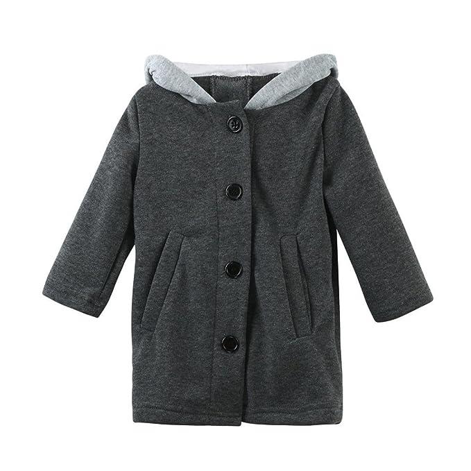 Longra - Abrigo para la nieve - para niña gris gris: Amazon.es: Ropa y accesorios