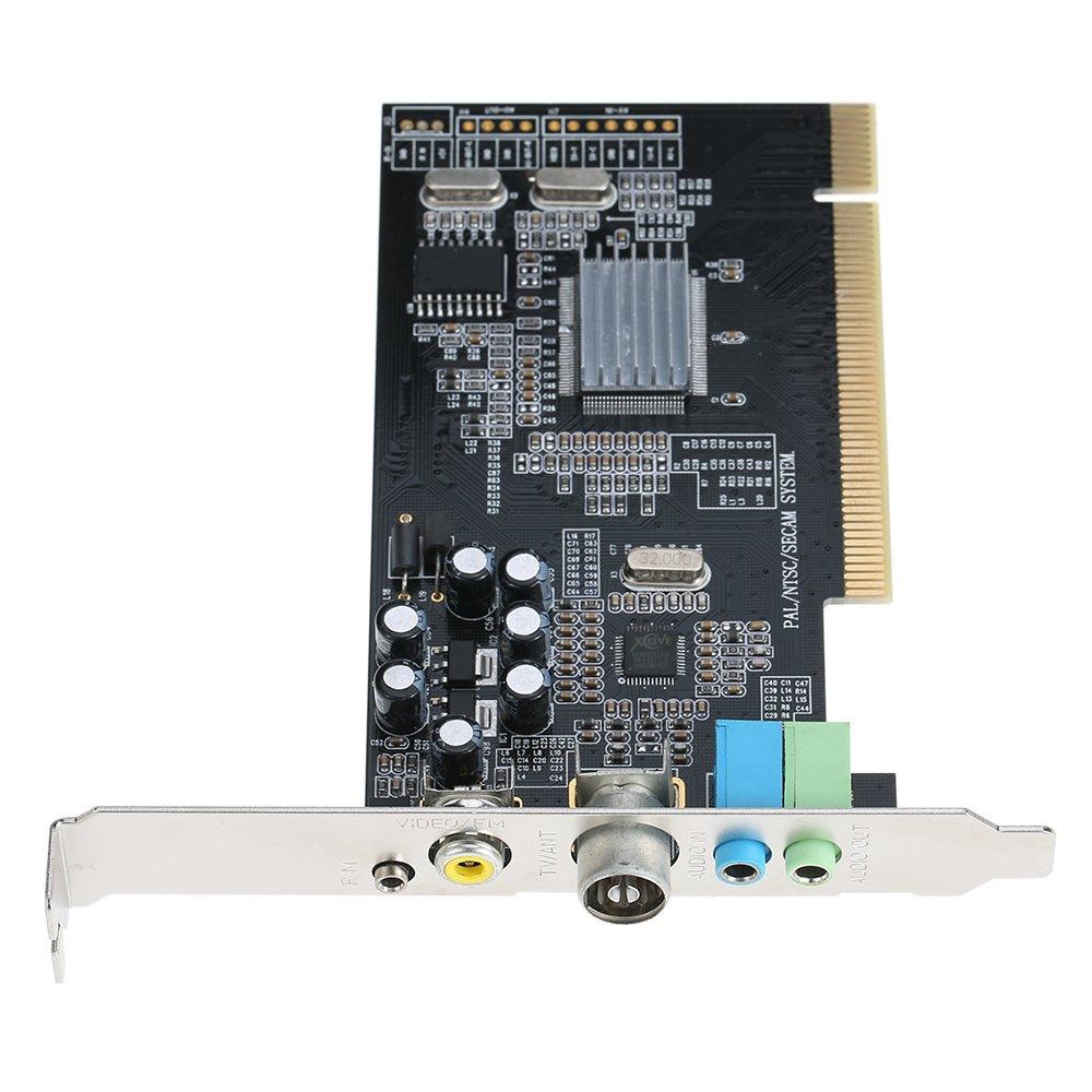KKmoon Tarjeta Sintonizadora de TV Interna PCI Video MPEG Grabador ...