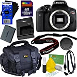 Canon EOS Rebel T6i Digital SLR Camera (Body Only) International Version + 32GB SD Memory Card + Large Case + Accessory Kit w/HeroFiber Ultra Gentle Cleaning Cloth