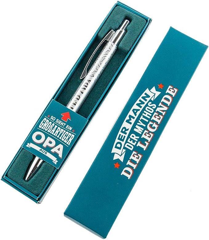 H&H 3213000012 Superior Boli Kerl & Mujer Bolígrafo con Grabado y Caja Regalo, Mejor Abuelo: Amazon.es: Oficina y papelería