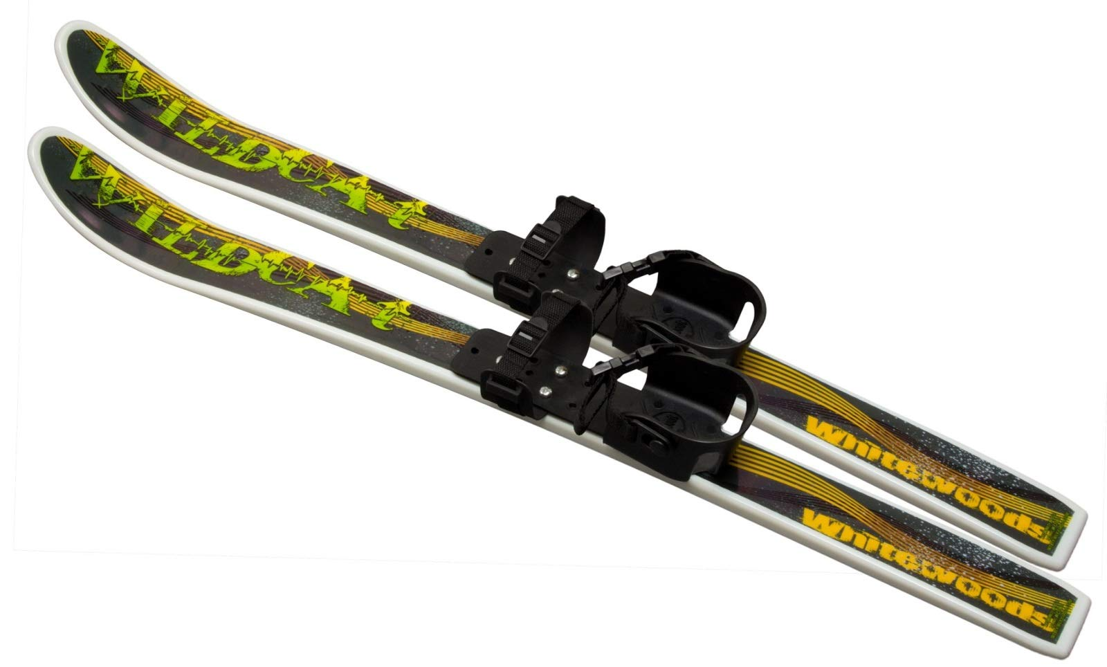 Whitewoods by Erik Sports, Wildcat 95cm Junior Cross Country Backyard Ski Set, Waxless Base, Ages 4-8 by Whitewoods