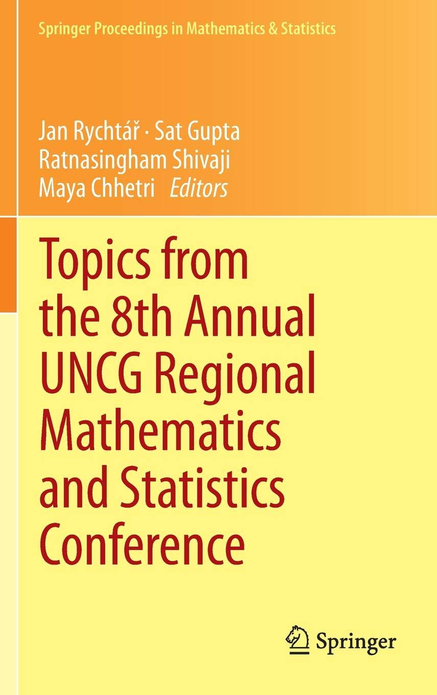 Buy Topics from the 8th Annual UNCG Regional Mathematics and