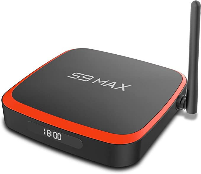 TV Box SUNNZO S9 MAX RK3318 4 + 64 Android 10.0 con Antena Externa Dual-WiFi 2.4Ghz/5Ghz 3D 4K USB 3.0