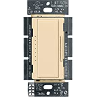 Lutron Maestro LED+ Dimmer for Dimmable LED, Halogen and Incandesent Bulbs   Single-Pole or Multi-Location   MACL-153M…